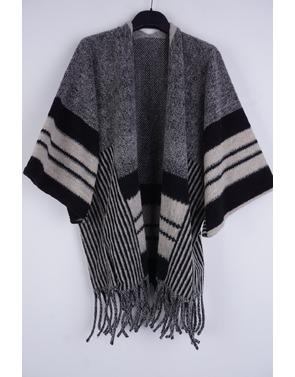 Garde-robe - Poncho - Grijs