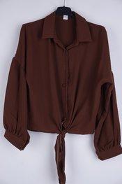 Garde-robe - Blouse - Bruin