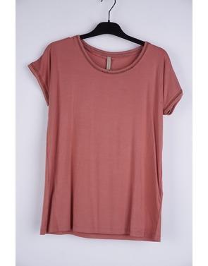 Soya - T-shirt - Beige-bruin