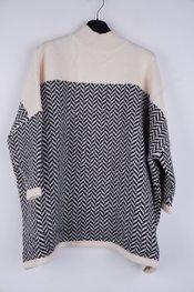 Garde-robe - Pull - Zwart-beige