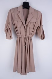 Garde-robe - Kort Kleedje - Beige