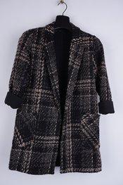 Garde-robe - Jas - Zwart-beige