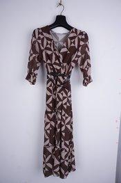 Garde-robe - Lang kleed - Beige-bruin