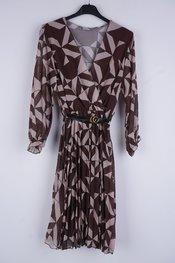 Garde-robe - Halflang Kleedje - Bruin