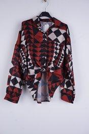 Garde-robe - Blouse - Beige-bruin