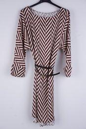 Garde-robe - Kort Kleedje - Bruin