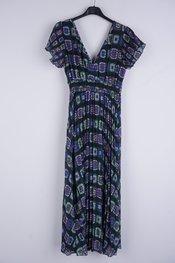 Garde-robe - Lang kleed - Groen-paars