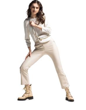 Caroline Biss - Lang kleed - Ecru