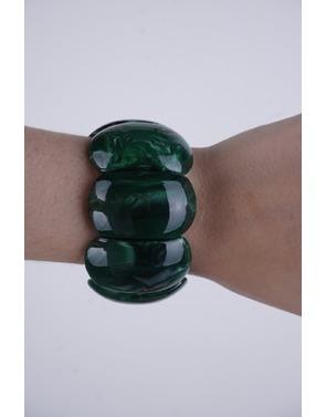 Garde-robe - Armband - Groen