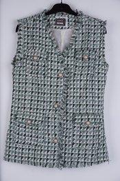 Garde-robe - Gilet - Beige-groen