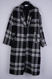 Garde-robe - Mantel - Zwart-wit
