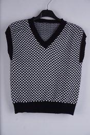 Garde-robe - Debardeur - Zwart-wit