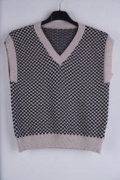Garde-robe - Debardeur - Zwart-beige