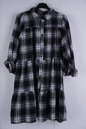 Garde-robe - Kort Kleedje - Zwart-wit