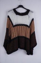 Garde-robe - Pull - Zwart-bruin