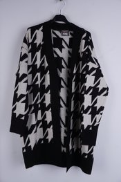 Garde-robe - Gilet - Zwart-wit