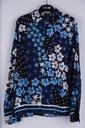 Garde-robe - Blouse - Zwart-blauw