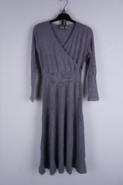 Garde-robe - Halflang Kleedje - Grijs