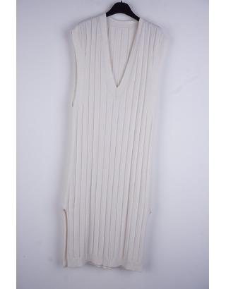 Garde-robe - Lang kleed - Ecru