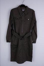 Garde-robe - Halflang Kleedje - Kaki