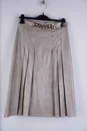 Garde-robe - Halflange Rok - Goud