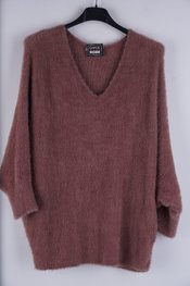Garde-robe - Pull - Oud roze