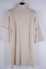 Garde-robe - Halflang Kleedje - Ecru