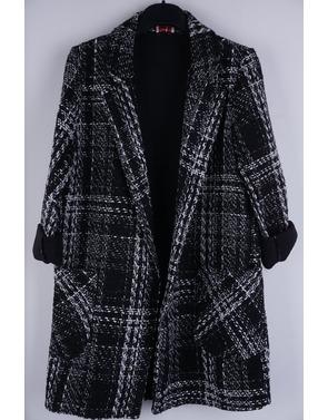 Garde-robe - Jas - Zwart-wit