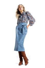 Caroline Biss - Halflange Rok - Blauw