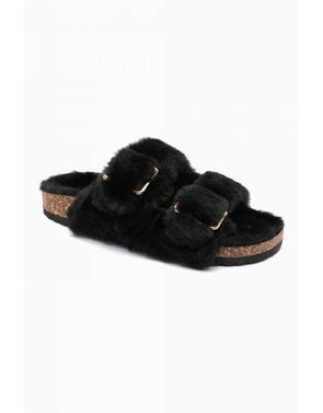 Garde-robe - Pantoffels - Zwart