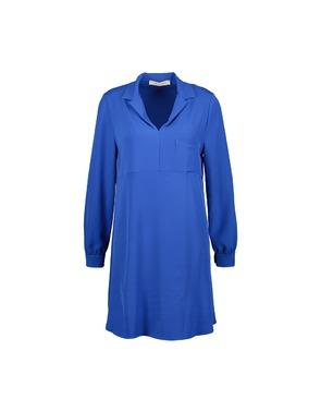 Amelie-amelie - Halflang Kleedje - Blauw