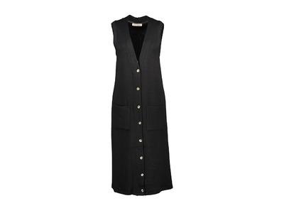 Amelie-amelie - Lang kleed - Zwart