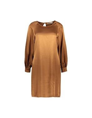 Amelie-amelie - Halflang Kleedje - Camel