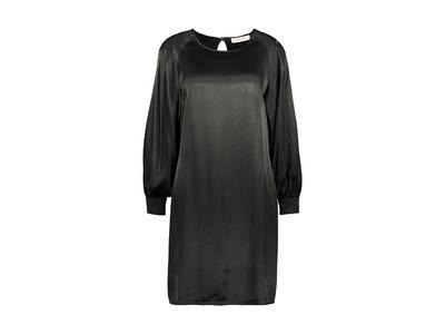 Amelie-amelie - Halflang Kleedje - Zwart