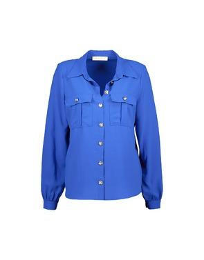 Amelie-amelie - Blouse - Blauw