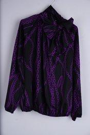 Garde-robe - Blouse - Zwart-paars
